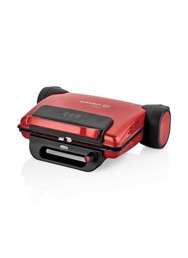Korkmaz Tostema Kırmızı Midi Tost Makinesi Kırmızı